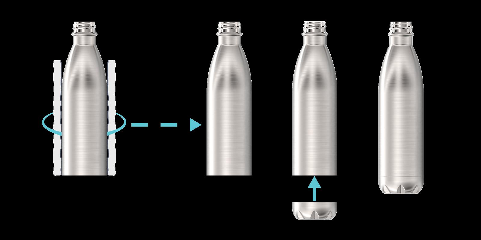 Wie wir unsere Metall-Flaschen herstellen - Step6