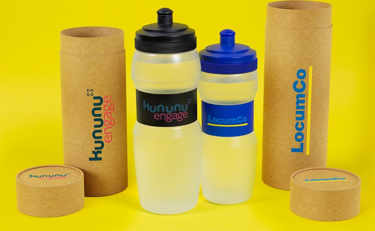 Fit - Trinkflasche mit Logo