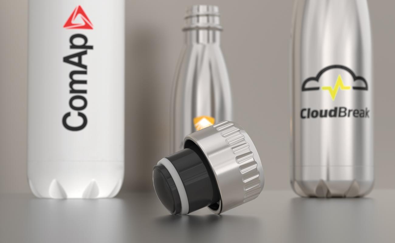Nova - Trinkflasche mit Logo
